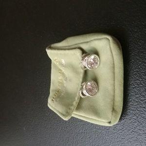 Judith Ripka Diamonique Stud Earrings